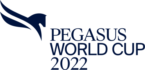 Pegasus World Cup Logo in Navy